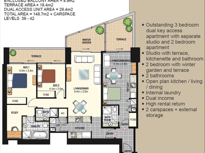 4101/91-93 Liverpool Street, Sydney, NSW 2000 - floorplan