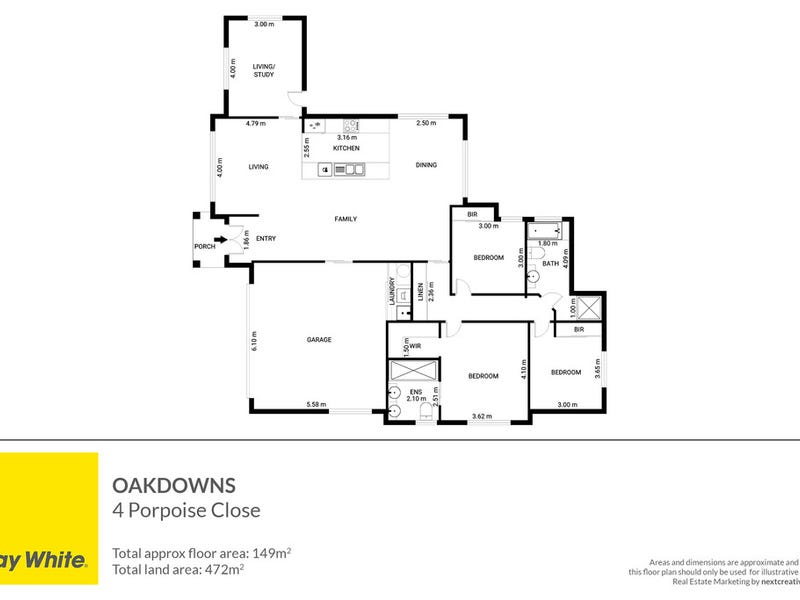 4 Porpoise Close, Oakdowns, Tas 7019 - floorplan