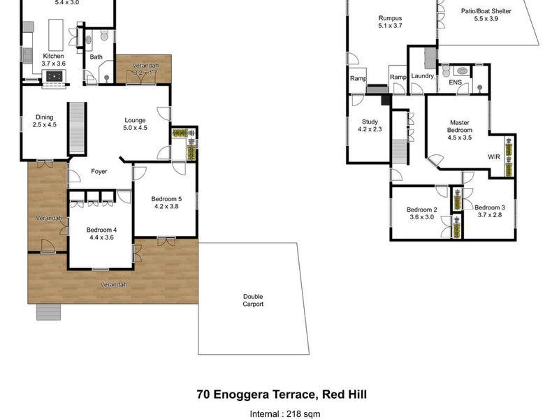 70 Enoggera Terrace, Red Hill, Qld 4059 - floorplan