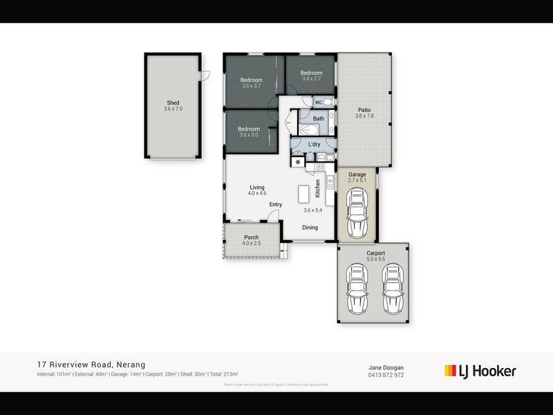 17 Riverview Road, Nerang, Qld 4211 - floorplan