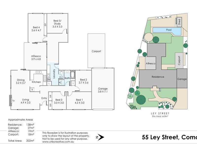 55 Ley Street, Como, WA 6152 - floorplan