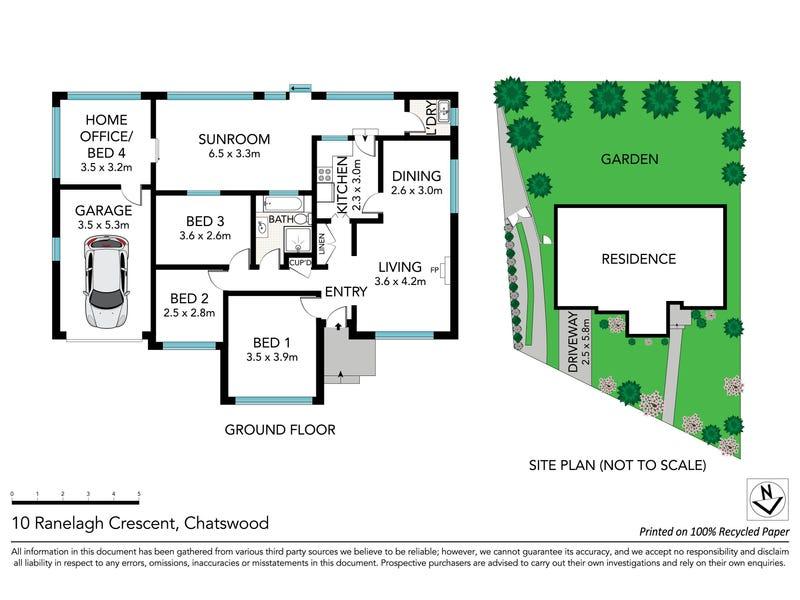 10 Ranelagh Crescent, Chatswood, NSW 2067 - floorplan