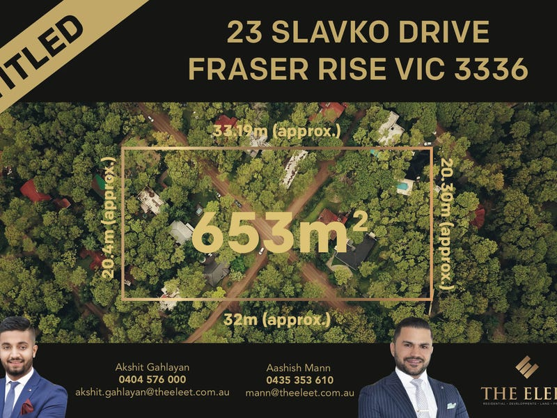 23 Slavko Drive, Fraser Rise, Vic 3336