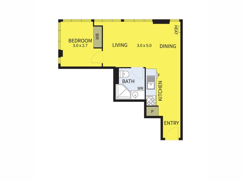 118/339 Swanston Street, Melbourne, Vic 3000 - floorplan