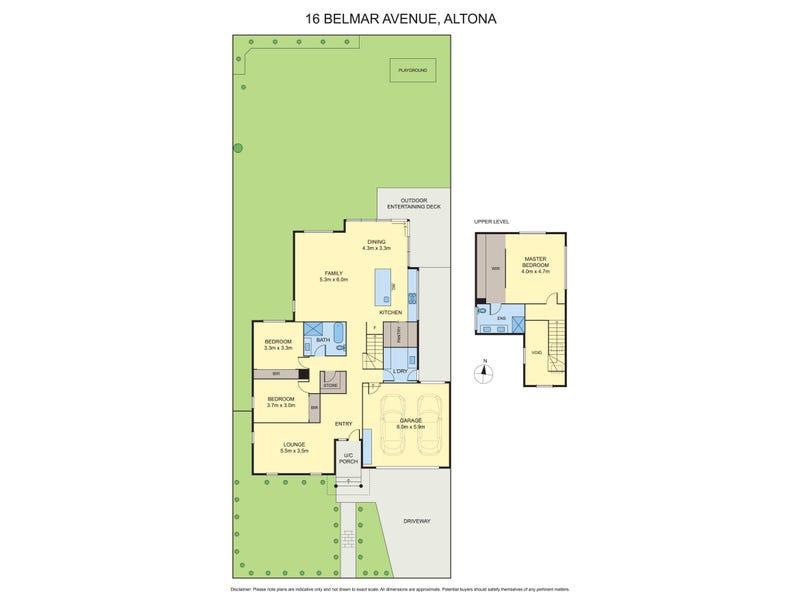 16 Belmar Avenue, Altona, Vic 3018 - floorplan