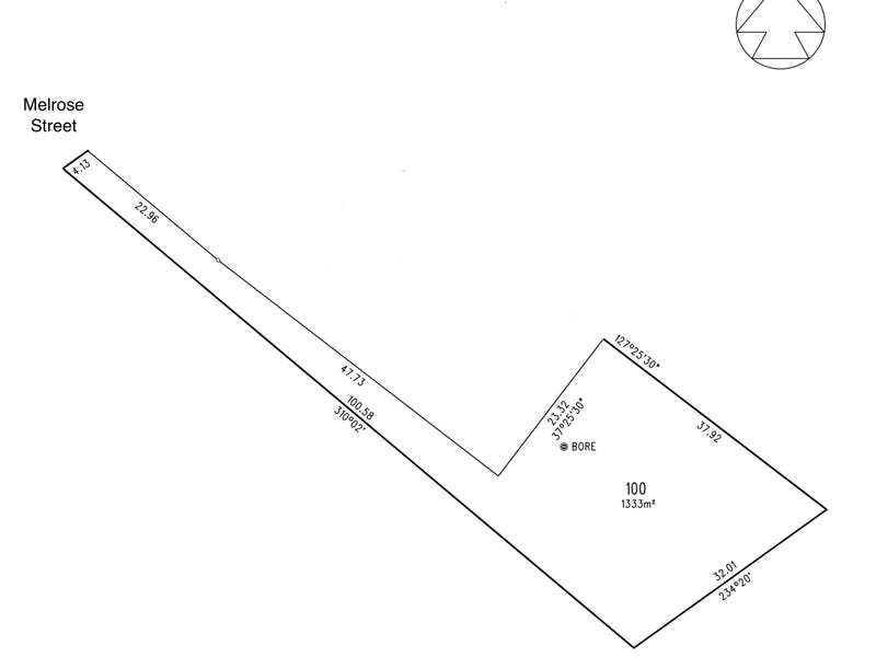 Lot 100, 14 Melrose Street, Mount Pleasant, SA 5235 - floorplan