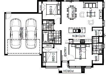 Lot 629 Mervyn Way, Mambourin, Vic 3024 - floorplan