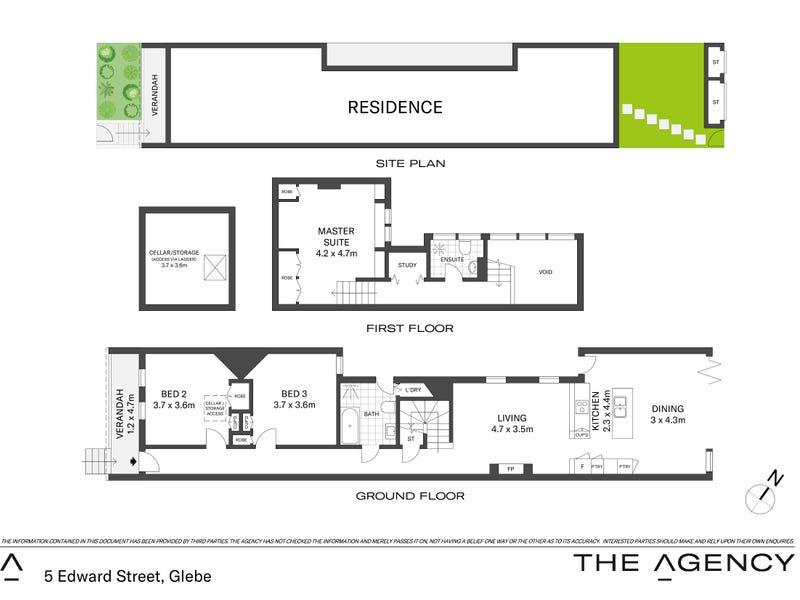 5 Edward Street, Glebe, NSW 2037 - floorplan