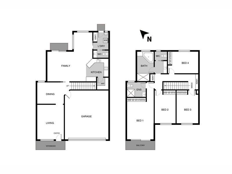 3/25 Margany Close, Ngunnawal, ACT 2913 - floorplan