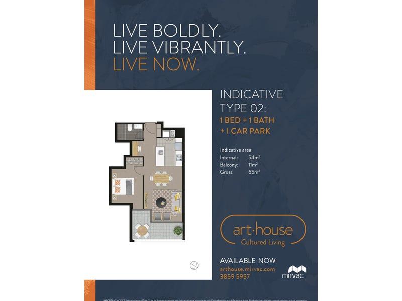 1062/58 Hope Street, South Brisbane, Qld 4101 - floorplan
