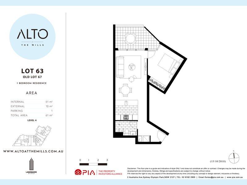 63/ 20  Dressler Court, Merrylands, NSW 2160 - floorplan