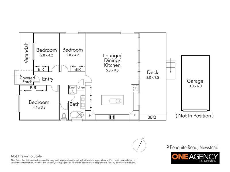 9 Penquite Road, Newstead, Tas 7250 - floorplan