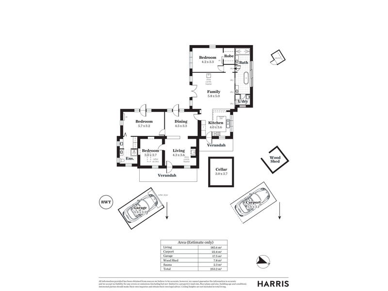 203 Upper Sturt Road, Upper Sturt, SA 5156 - floorplan