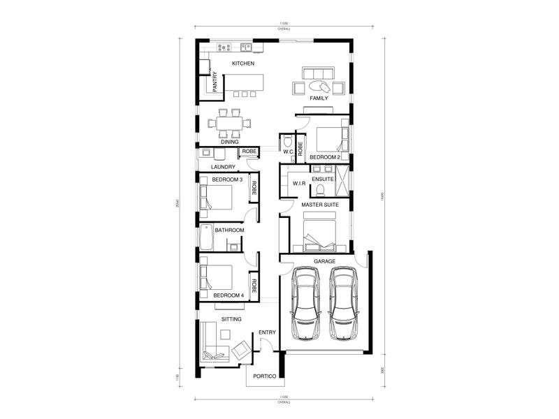 Lot 723 Platform Estate, Donnybrook, Vic 3064 - floorplan