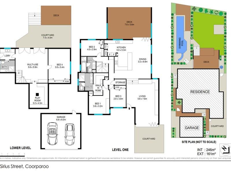9 Sirius Street, Coorparoo, Qld 4151 - floorplan