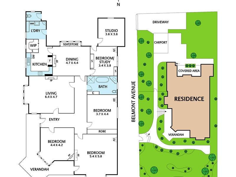 45 Belmont Avenue, Kew, Vic 3101 - floorplan