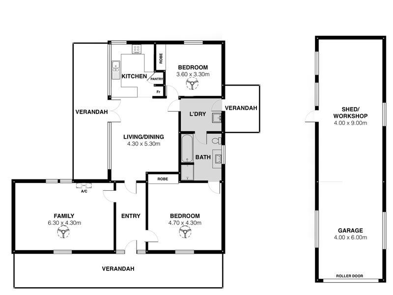 13 Clayton Street, Clayton Bay, SA 5256 - floorplan