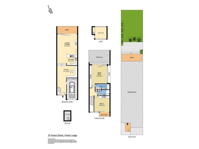 24 Forest Street, Forest Lodge, NSW 2037 - floorplan
