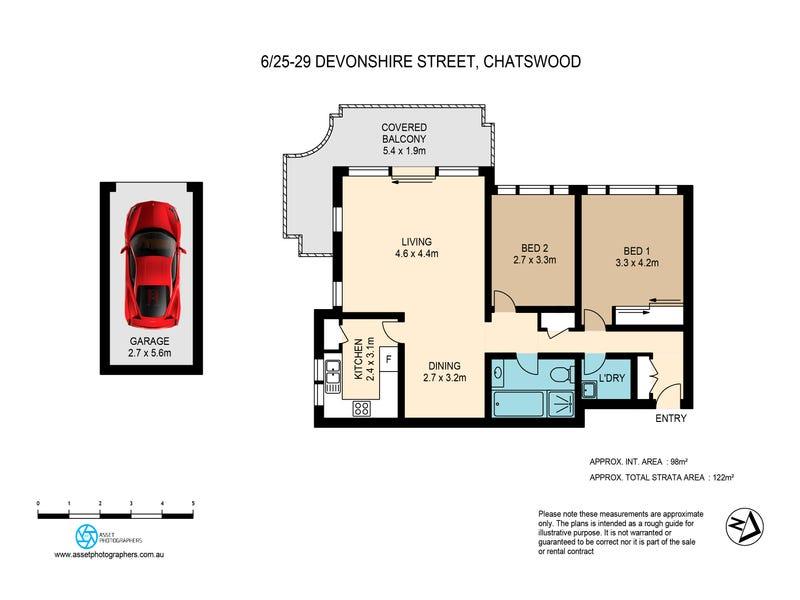 6/25-29 Devonshire St, Chatswood, NSW 2067 - floorplan