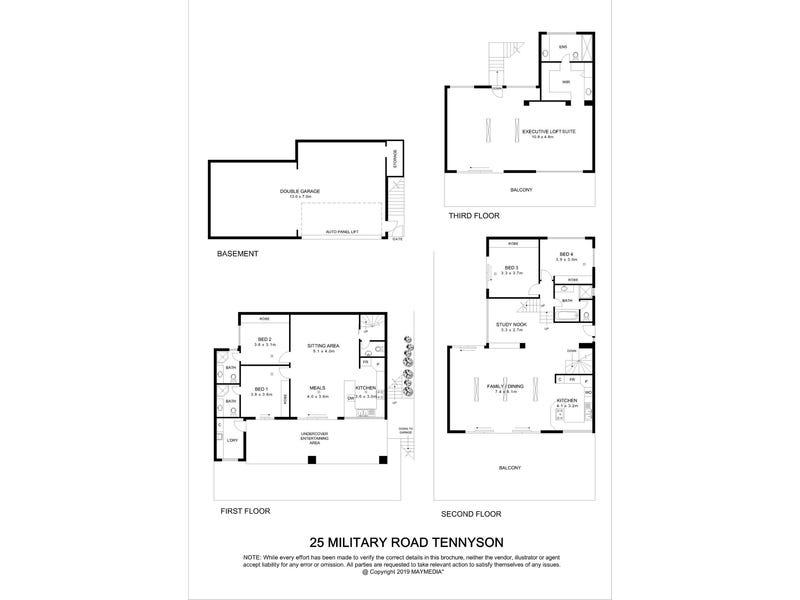 25 Military Road, Tennyson, SA 5022 - floorplan