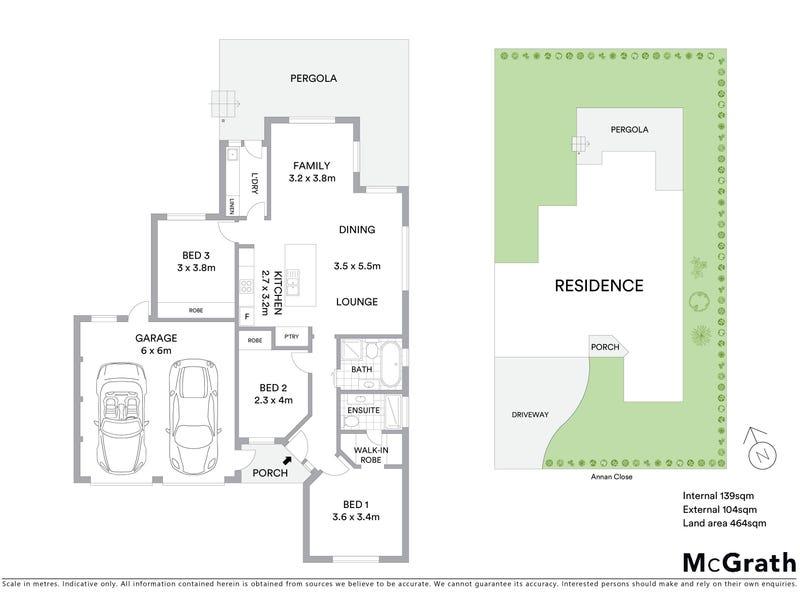 11 Annan Close, Amaroo, ACT 2914 - floorplan