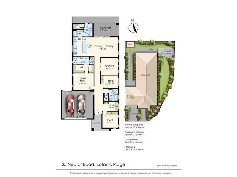 25 Nectar Road, Botanic Ridge, Vic 3977 - floorplan