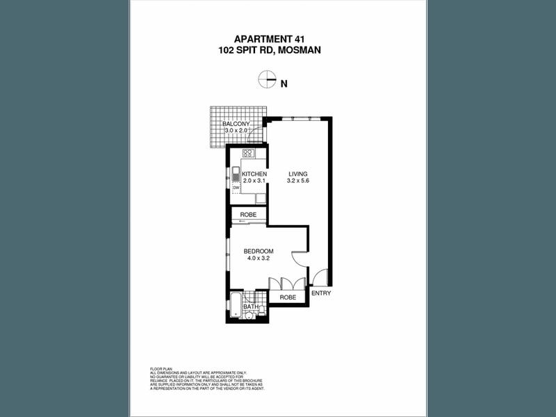 41/102 Spit Road, Mosman, NSW 2088 - floorplan
