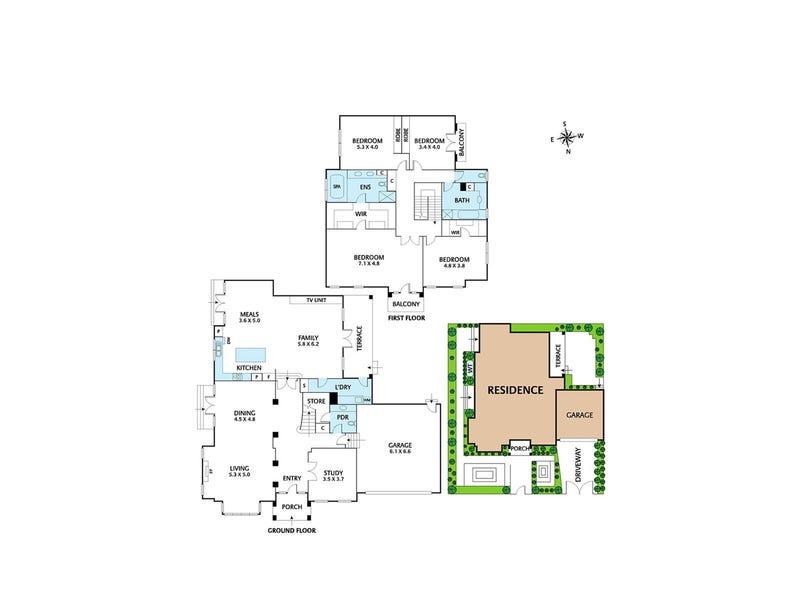 27 Molesworth Street, Kew, Vic 3101 - floorplan