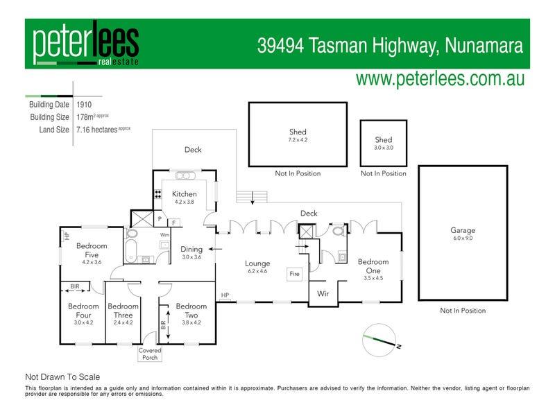 39494 Tasman Highway, Nunamara, Tas 7259 - floorplan