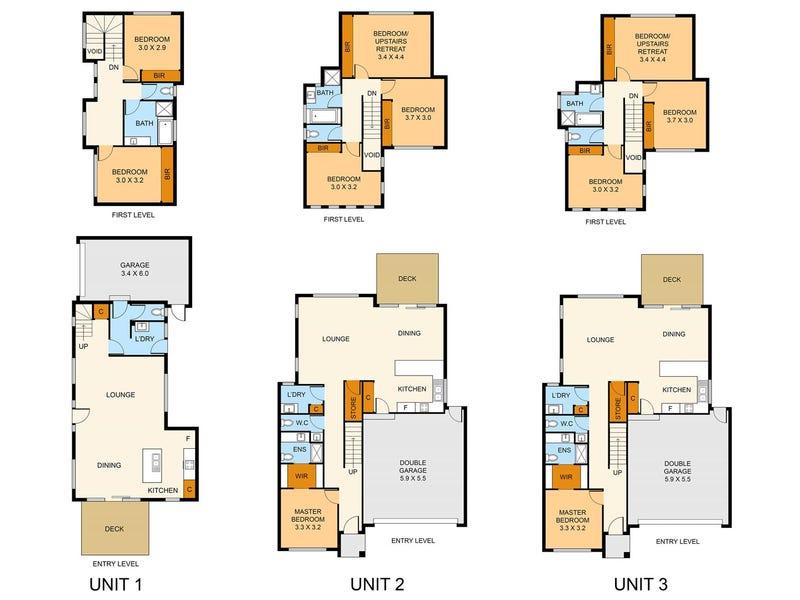 1-3/24 Parrs Road, Croydon, Vic 3136 - floorplan
