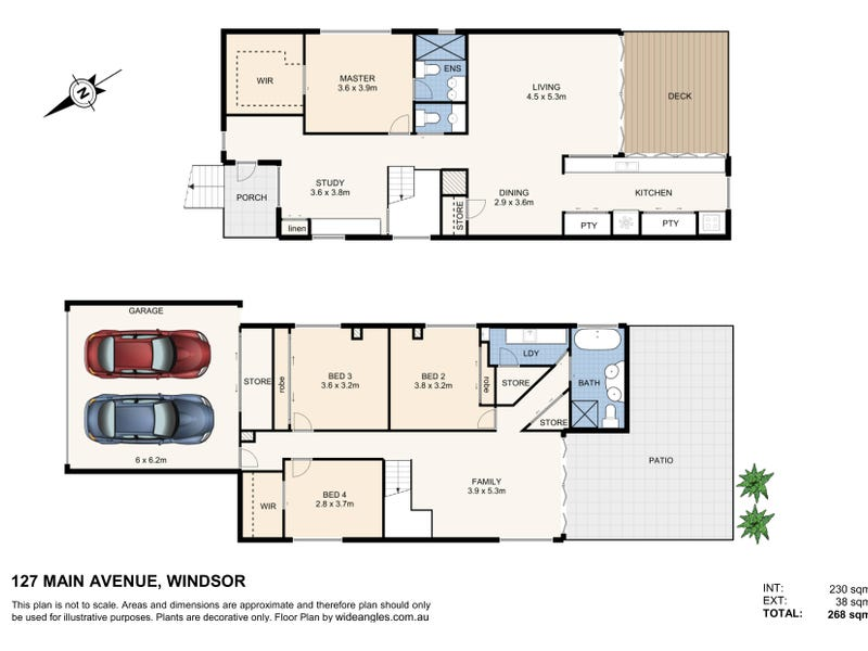 127 Main Avenue, Windsor, Qld 4030 - floorplan