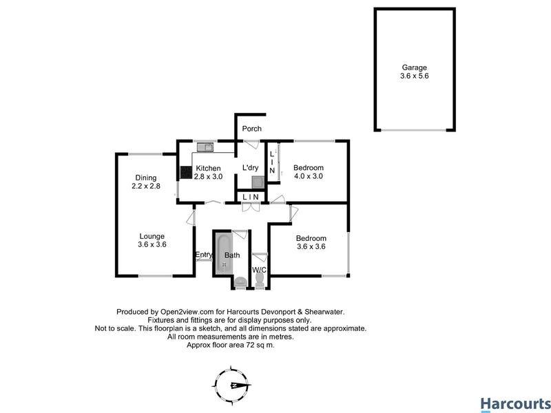 15 Raymond Avenue, Devonport, Tas 7310 - floorplan