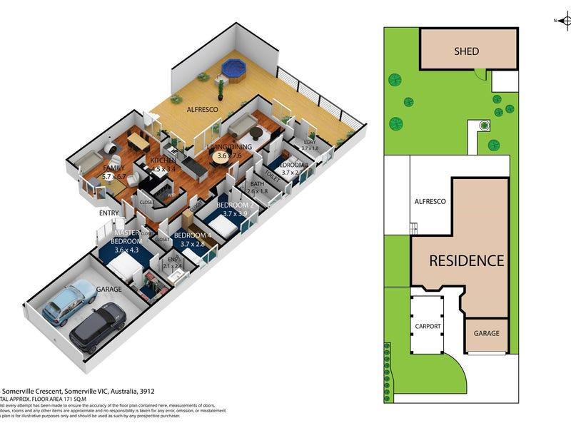 13 Somerville Crescent, Somerville, Vic 3912 - floorplan