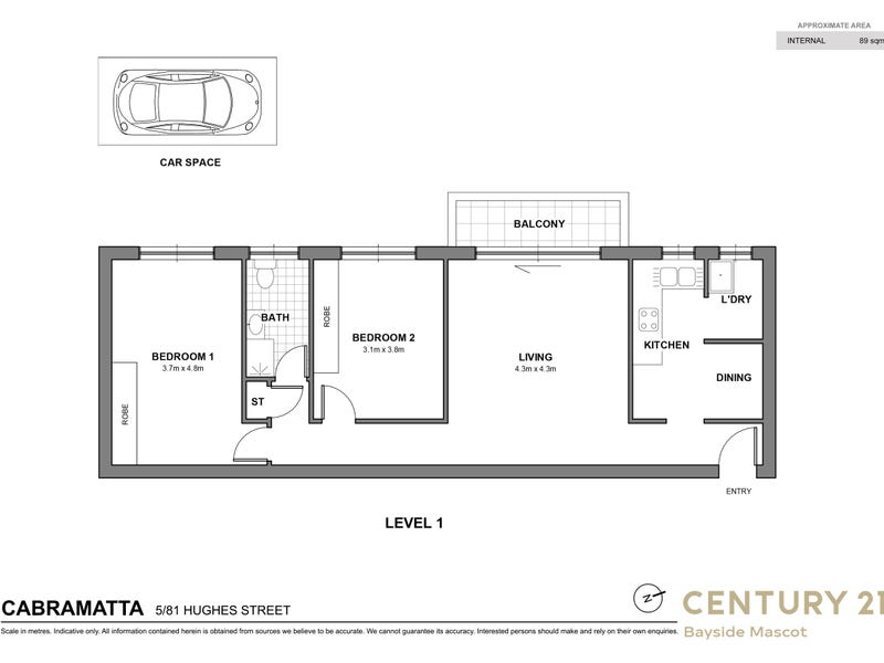 5/81 Hughes St, Cabramatta, NSW 2166 - floorplan