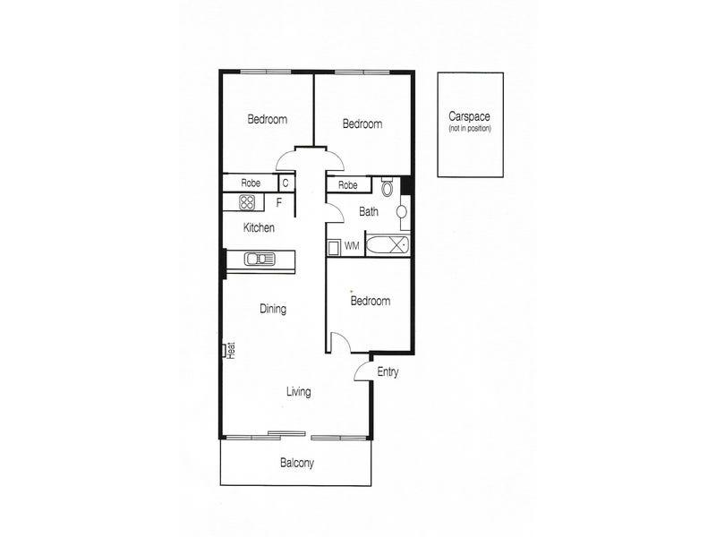 208/28 Little Lonsdale Street, Melbourne, Vic 3000 - floorplan