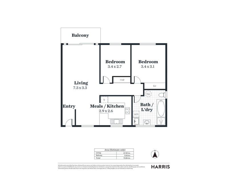 6/30 College Road, Kent Town, SA 5067 - floorplan