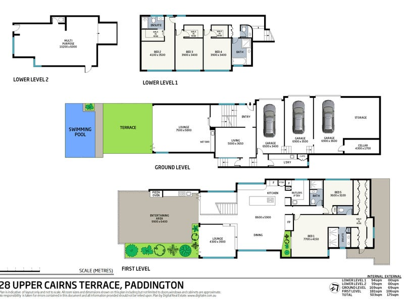28 Upper Cairns Terrace, Paddington, Qld 4064 - floorplan