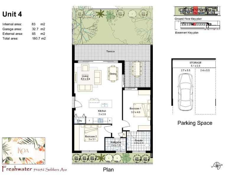 4/94-96 Soldiers Avenue, Freshwater, NSW 2096 - floorplan
