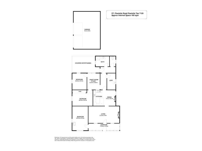 371 Pawtella Road, Pawtella, Tas 7120 - floorplan