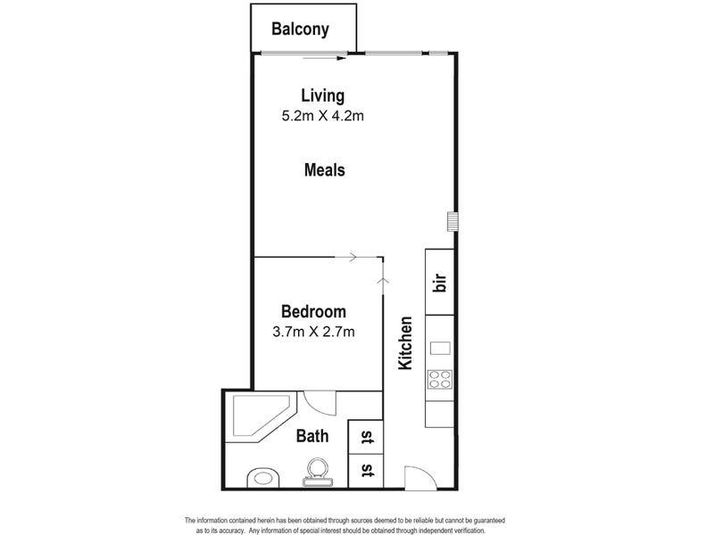 510/11-17 Cohen place, Melbourne, Vic 3000 - floorplan