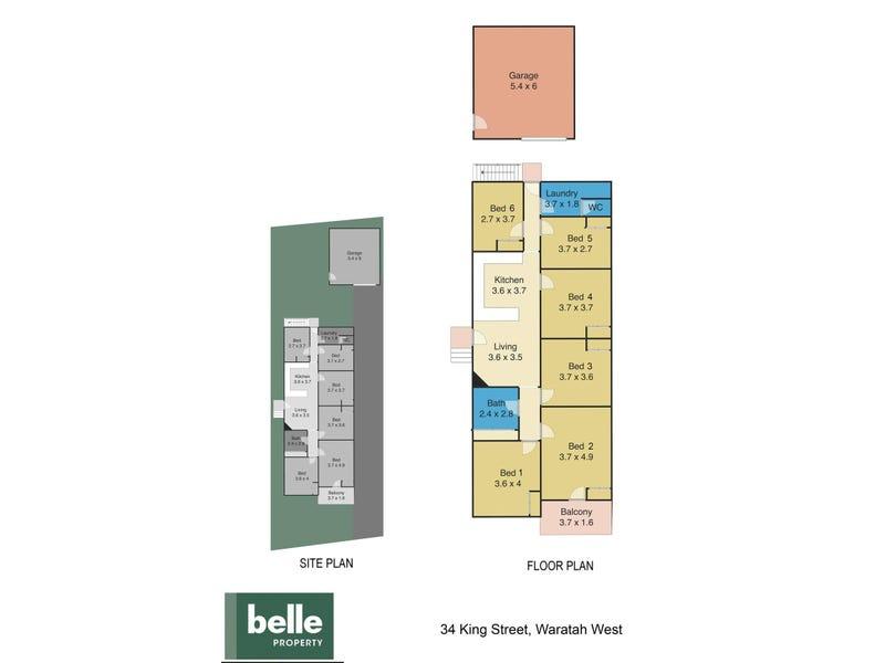34 King Street, Waratah West, NSW 2298 - floorplan