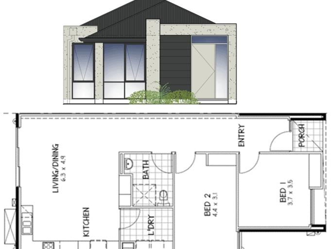 4 Brighton Place, Aldinga Beach, SA 5173 - floorplan