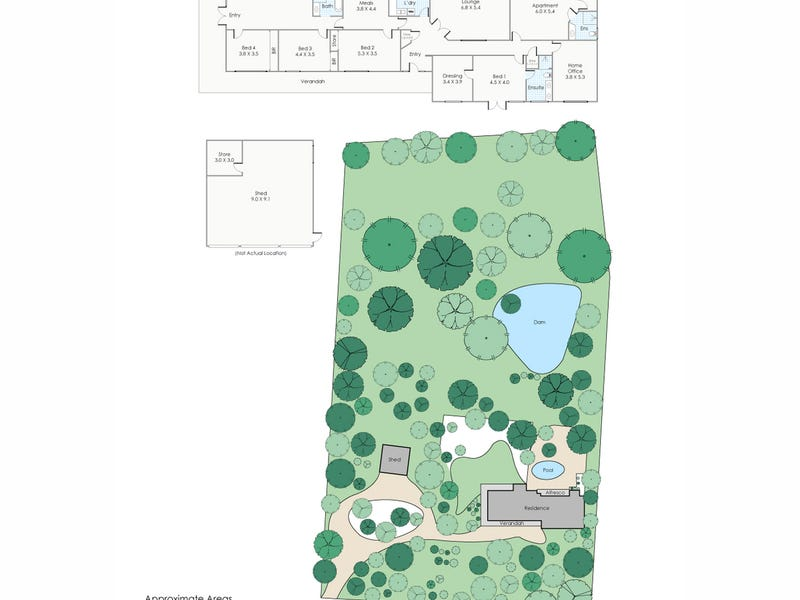 1535 Thomas Road, Glen Forrest, WA 6071 - floorplan
