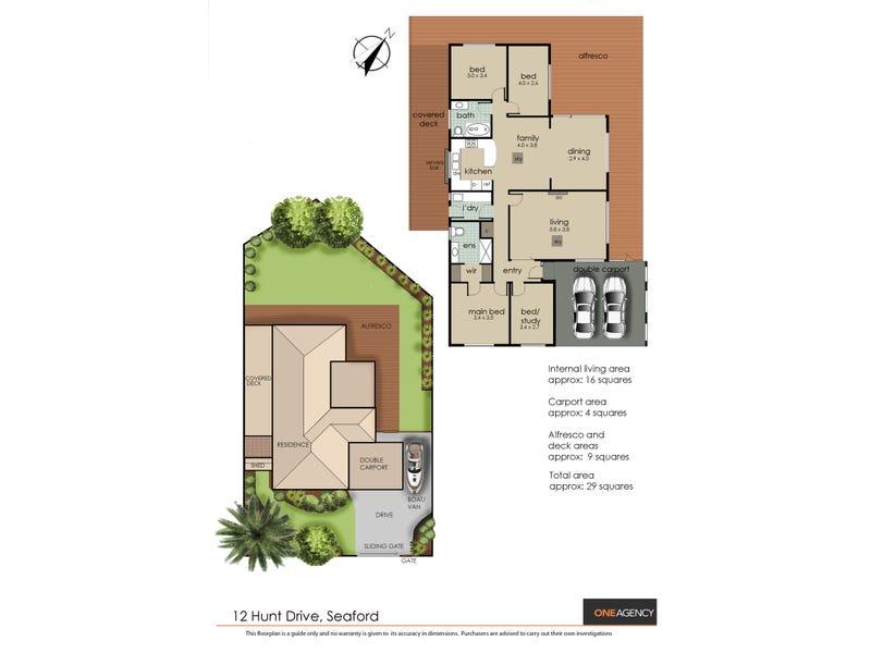 12 Hunt Drive, Seaford, Vic 3198 - floorplan