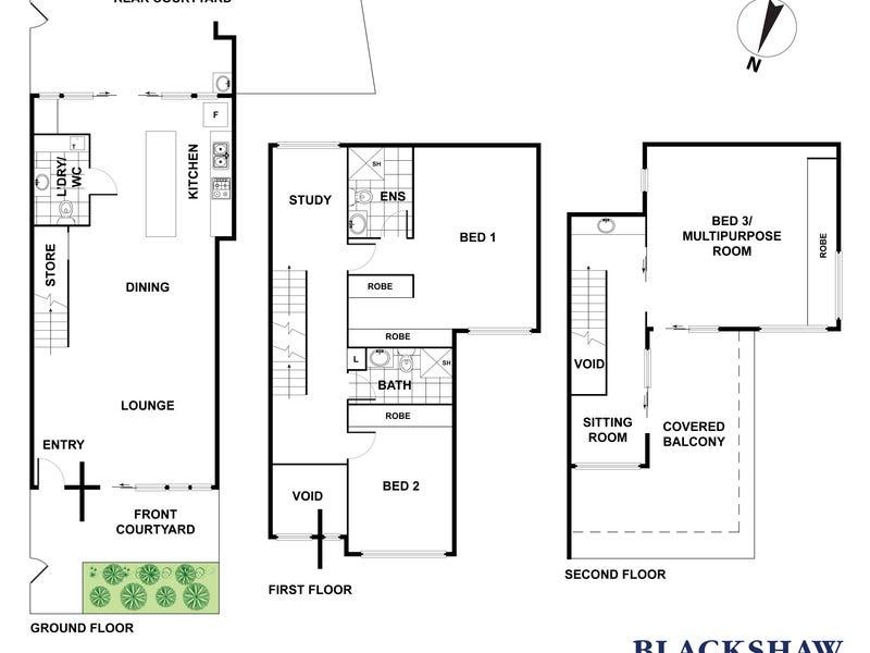 3/49 Hampton Circuit, Yarralumla, ACT 2600 - floorplan