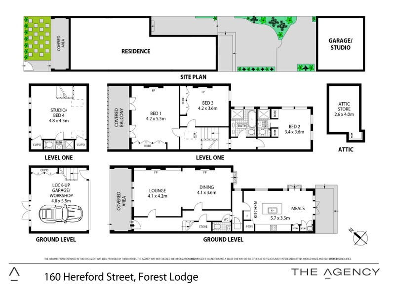 160 Hereford Street, Forest Lodge, NSW 2037 - floorplan