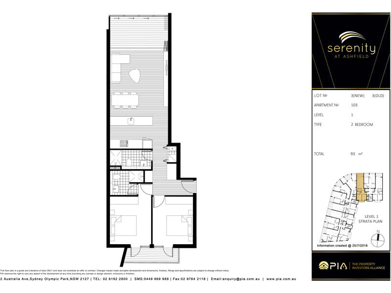 103/380 Liverpool Rd, Ashfield, NSW 2131 - floorplan
