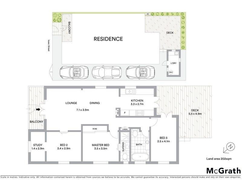 74 Isaac Street, Spring Hill, Qld 4000 - floorplan