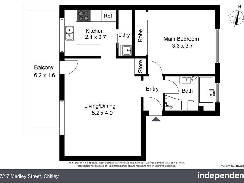 47/17 Medley Street, Chifley, ACT 2606 - floorplan