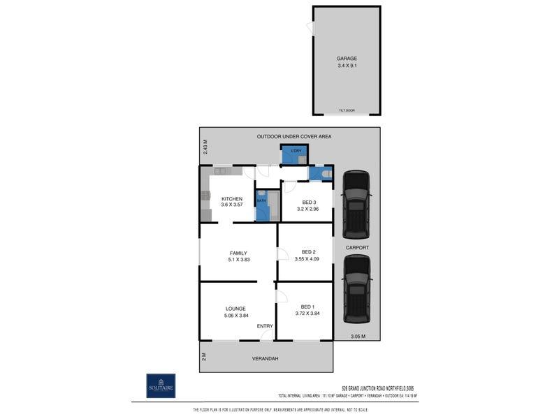 526 & 528 Grand Junction Road, Northfield, SA 5085 - floorplan